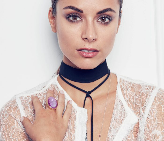 Monika Radlovic Sweet And Sexy Fashion Trends Lace Choker 3