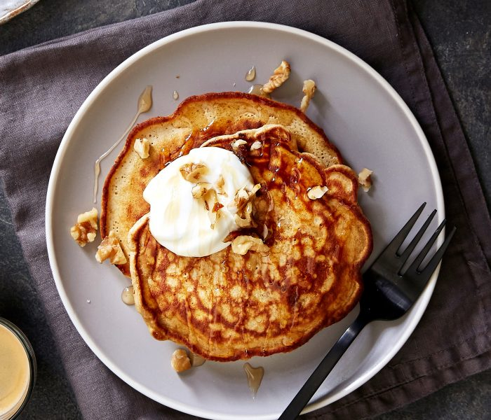 See Need Want Eat Breakfast Healthy Sticky Date Pancakes Copy