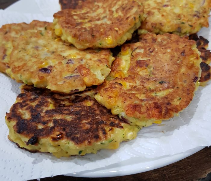 See Need Want Eat Corn Zucchini Feta Fritters 3