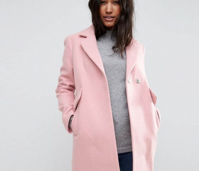 See Need Want Fashion Autumn Must Have Pink Coat Asos Home
