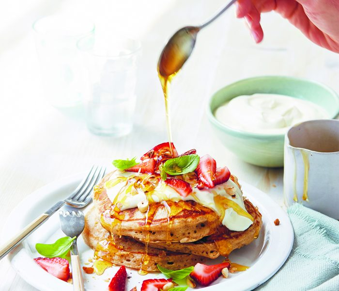 See Need Want Influencers Magdalena Roze Celebrity Cookbook Recipe Sunrise Buckwheat Pancakes Copy