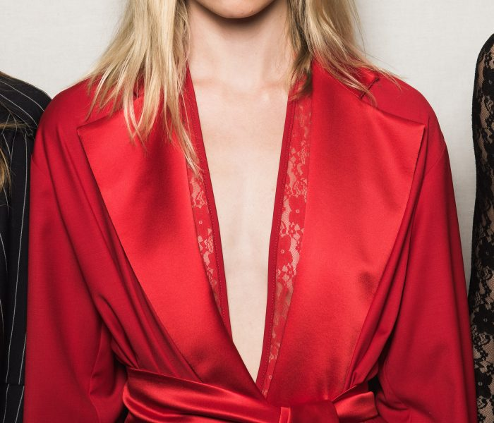 See Need Want Trend Alert Fashion Week Red Michael Lo Sordo Home