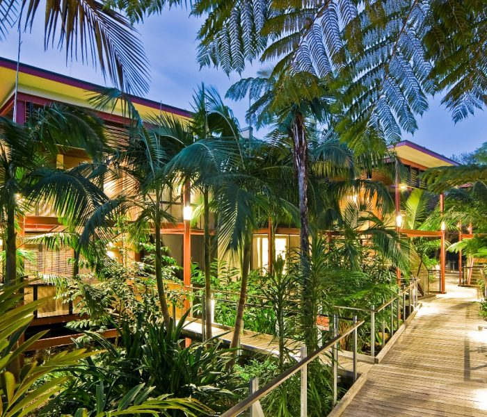 Tropical Getaway Travel Destination Byron At Byron Rainforest Rooms Low Res