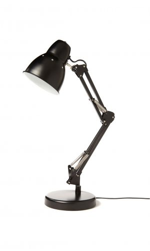 Typo Black Table Lamp