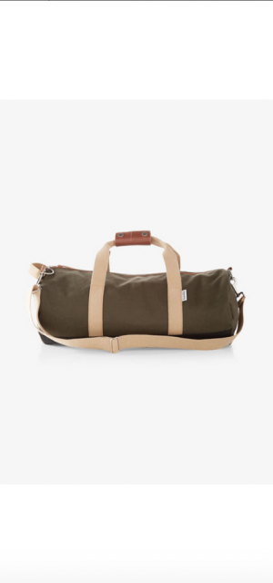 Owen Fred Owen Fred Work Hard Play Hard Duffle Bag