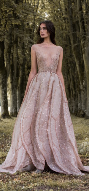 e4a40a768be ... Paolo Sebastian Gilded Wings Bridal Gowns Wedding Psaw1704 ...