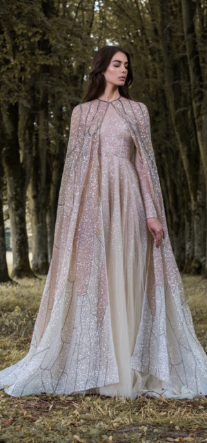 f0137f4ef75 ... Paolo Sebastian Gilded Wings Bridal Gowns Wedding Psaw1705 ...