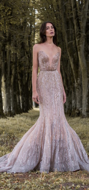 5493f1e6458 ... Paolo Sebastian Gilded Wings Bridal Gowns Wedding Psaw1706 ...