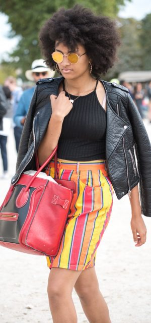 Paris Fashion Week Street Style Trends Round Sunglasses 2