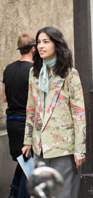 Paris Fashion Week Street Style Trends Suiting
