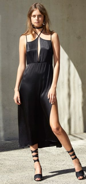 See Need Want Little Black Dress Party Fashion Slip Dress Staple The Label