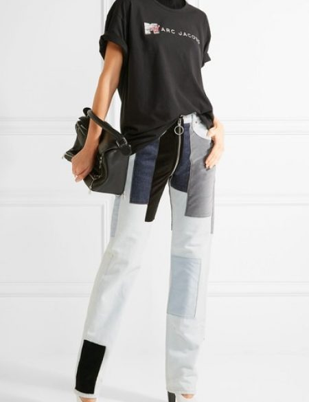 See Need Want Trend Alert Logo Tees Marc Jacobs