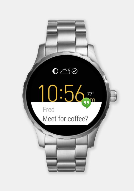 See Need Want Christmas Gift Guide Fossil Smart Watch