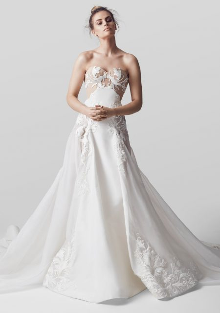 See Need Want Conilo Bridal Wedding Dress The Adele