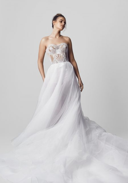 See Need Want Conilo Bridal Wedding Dress The Serena