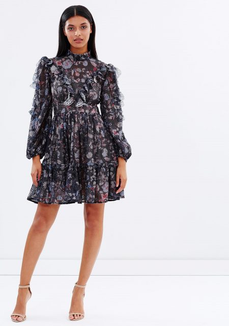 See Need Want Fashion Autumn Must Have Floral Dress Talulah