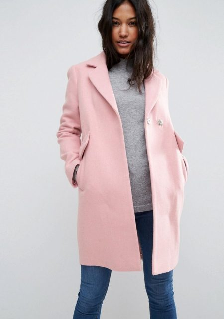 See Need Want Fashion Autumn Must Have Pink Coat Asos