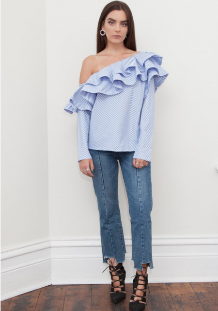 See Need Want Fashion Autumn Must Have Ruffled Shirt Hello Parry