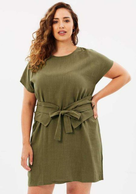 See Need Want Fashion Linen Dress Atmos Here Curvy