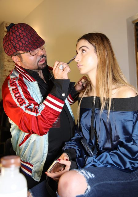 See Need Want Fashion Nyfw Christopher Esber Lianna Napoleon Perdis Backstage Makeup