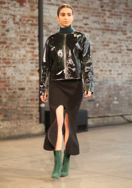 See Need Want Fashion Nyfw Christopher Esber Lianna Perdis Runway Look