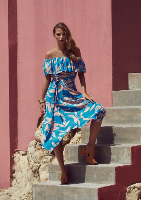 See Need Want Mister Zimi By The Sea Off The Shoulder Trend Dress