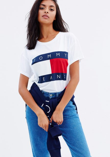 See Need Want Trend Alert Logo Tees Tommy Hilfiger