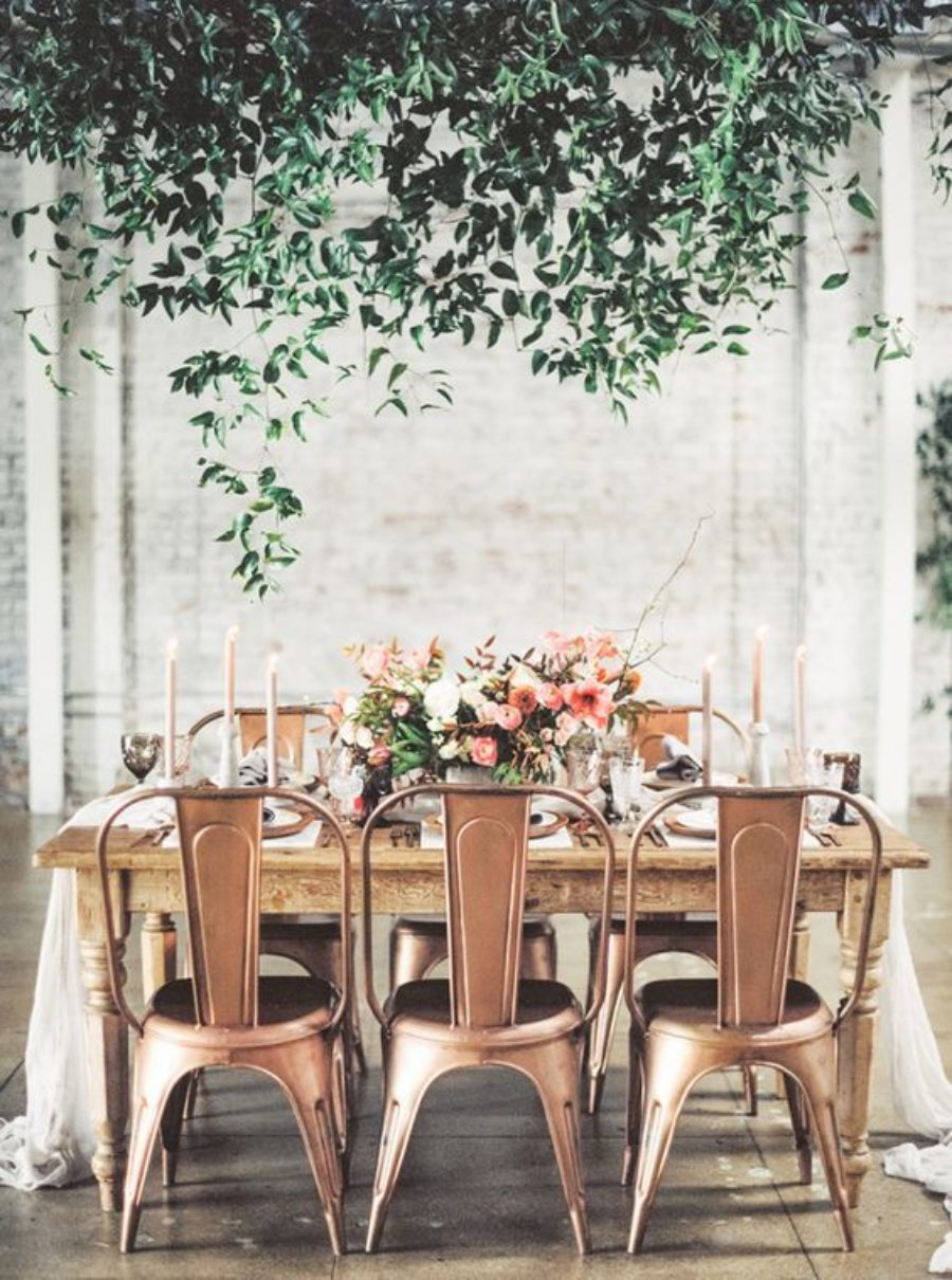 Metallic Wedding Styling Ideas 11