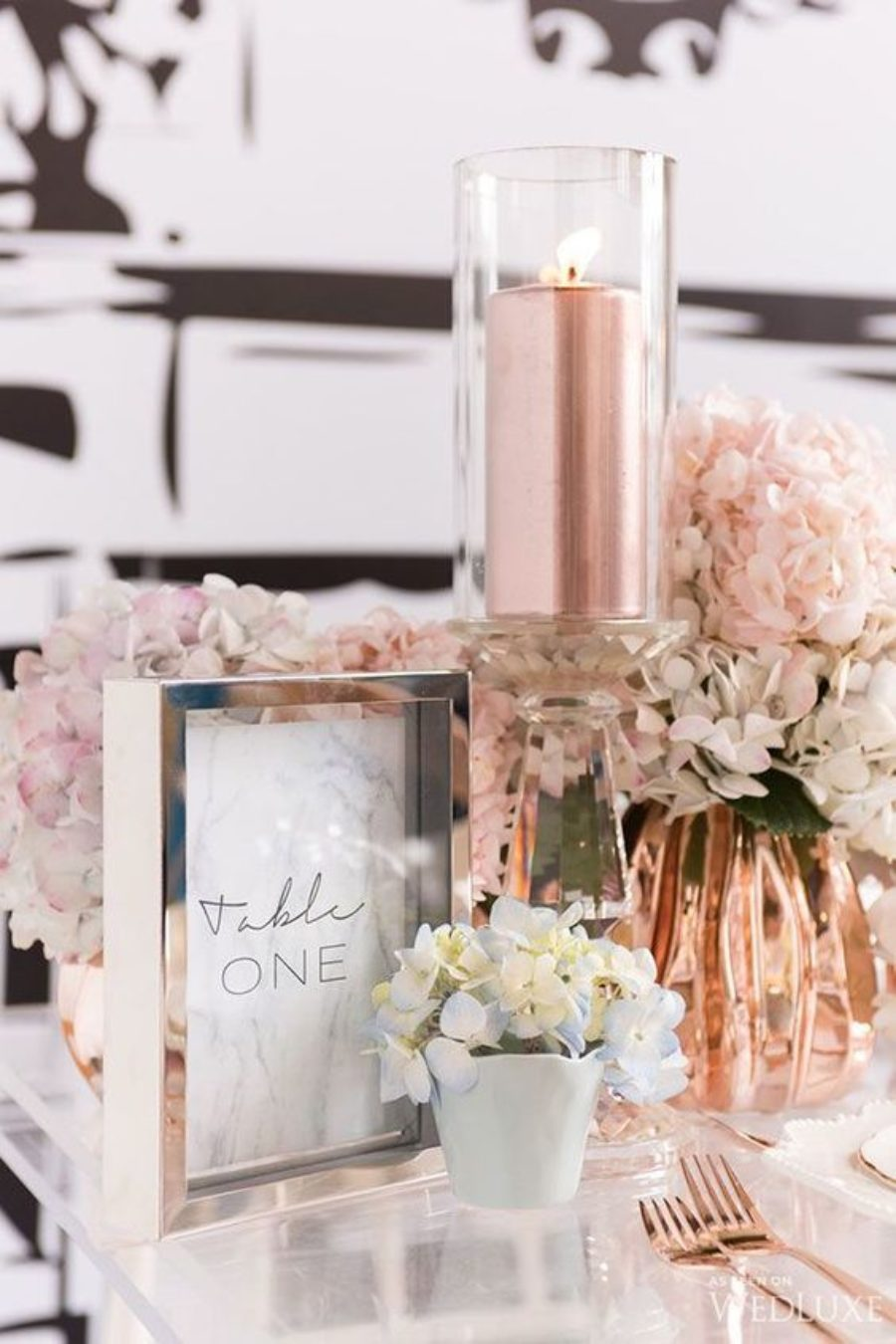 Metallic Wedding Styling Ideas 5