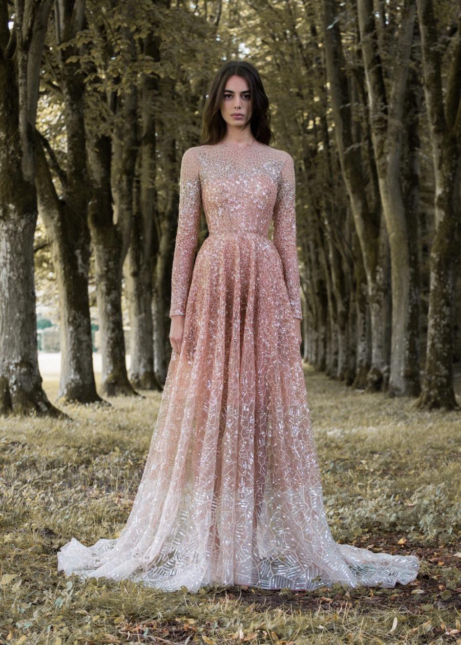 dddfc14fe41 Paolo Sebastian Gilded Wings Bridal Gowns Wedding 1701 Copy ...