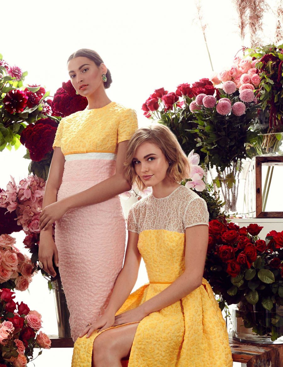 See Need Want Bright Bridesmaids Gowns