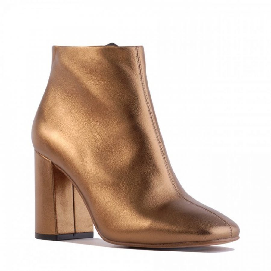 See Need Want Fashion Autumn Must Have Metallic Ankle Boots Siren Shoes