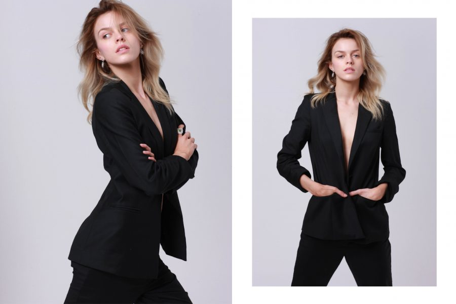 See Need Want Fashion Classic Beauty The Black Suit 2