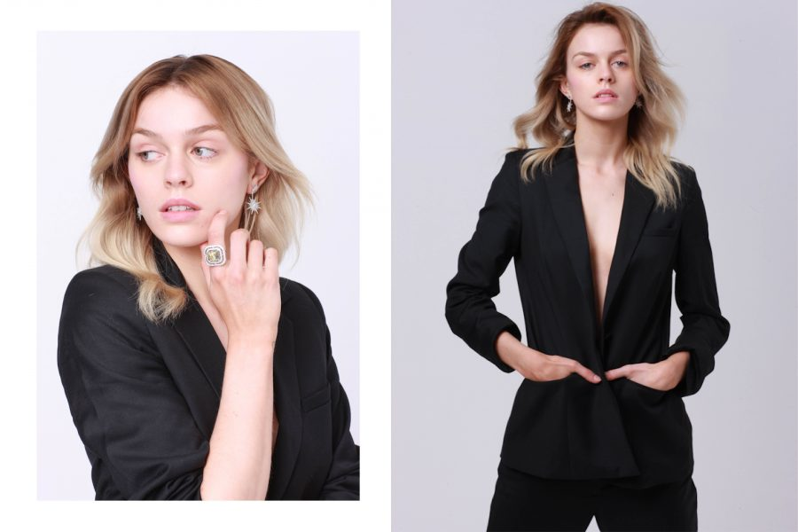 See Need Want Fashion Classic Beauty The Black Suit 3