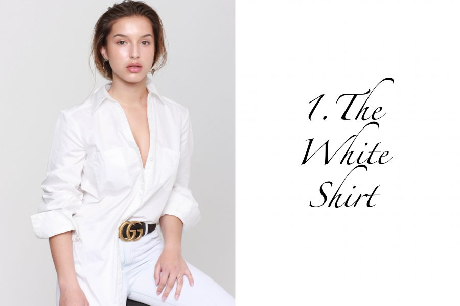 See Need Want Fashion Classic Beauty White Shirt 1