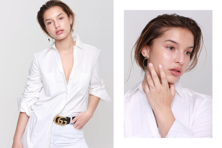 See Need Want Fashion Classic Beauty White Shirt 3