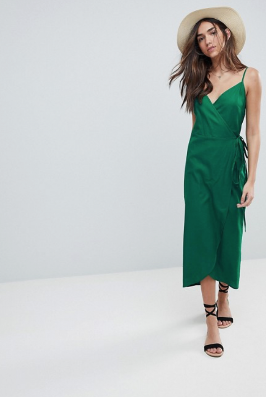 See Need Want Fashion Linen Dress Asos Design