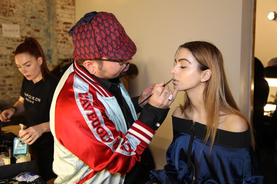 See Need Want Fashion Nyfw Christopher Esber Lianna Napoleon Perdis Backstage Makeup 3