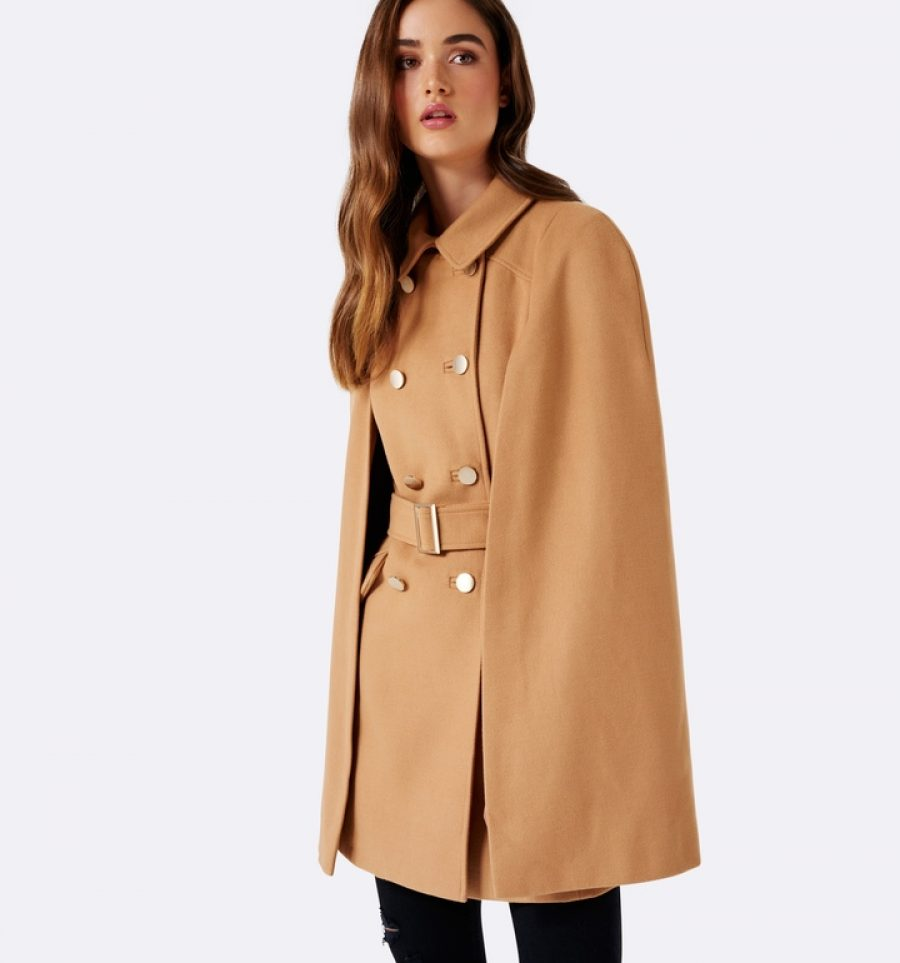 See Need Want Fashion Trend Cape Coat Trench Forever New
