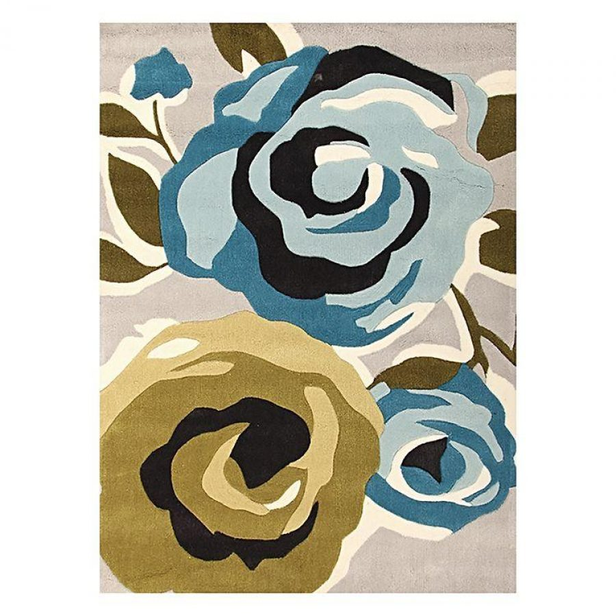 See Need Want Floral Rug