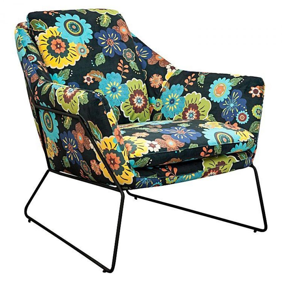 See Need Want Interiors Florals Armchair 1