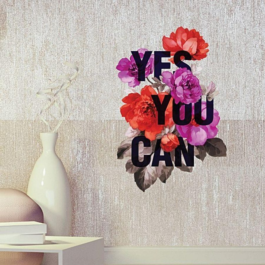 See Need Want Interiors Florals Wall Decal