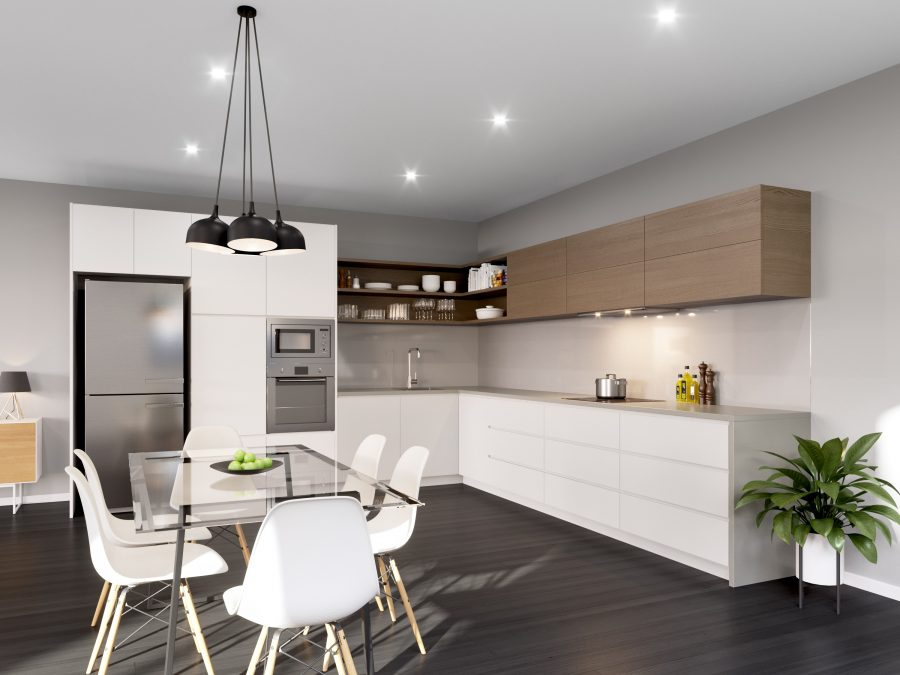 See Need Want Interiors The Blue Space Aura Kitchen Renovation