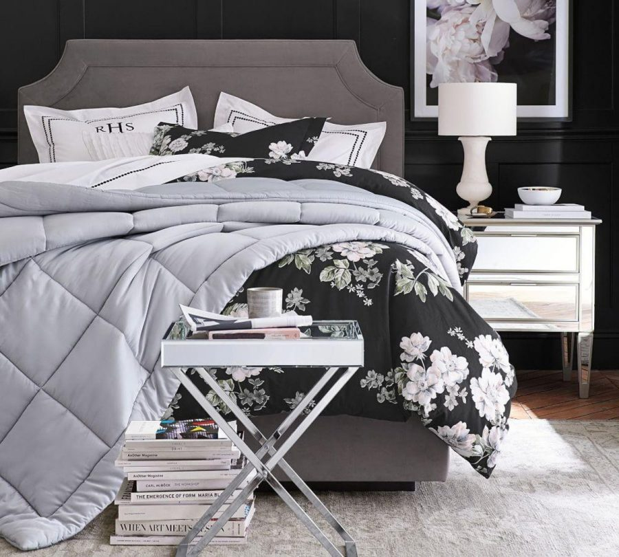 See Need Want Interiors Flora Print Bedspread