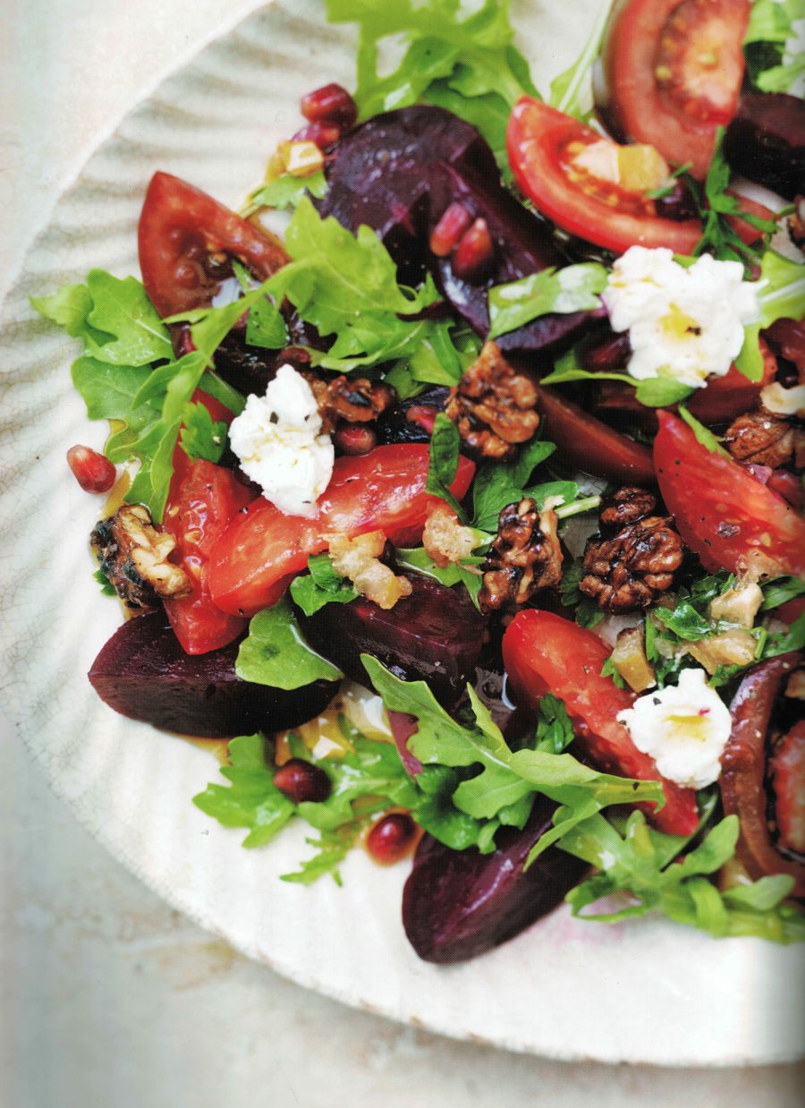 See Need Want Mood Boosting Foods Roast Beetroot And Walnut Salad Recipe