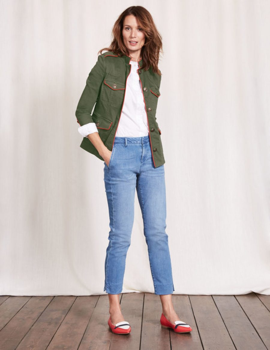 See Need Want Mothers Day Gift Guide Boden Military Jacket
