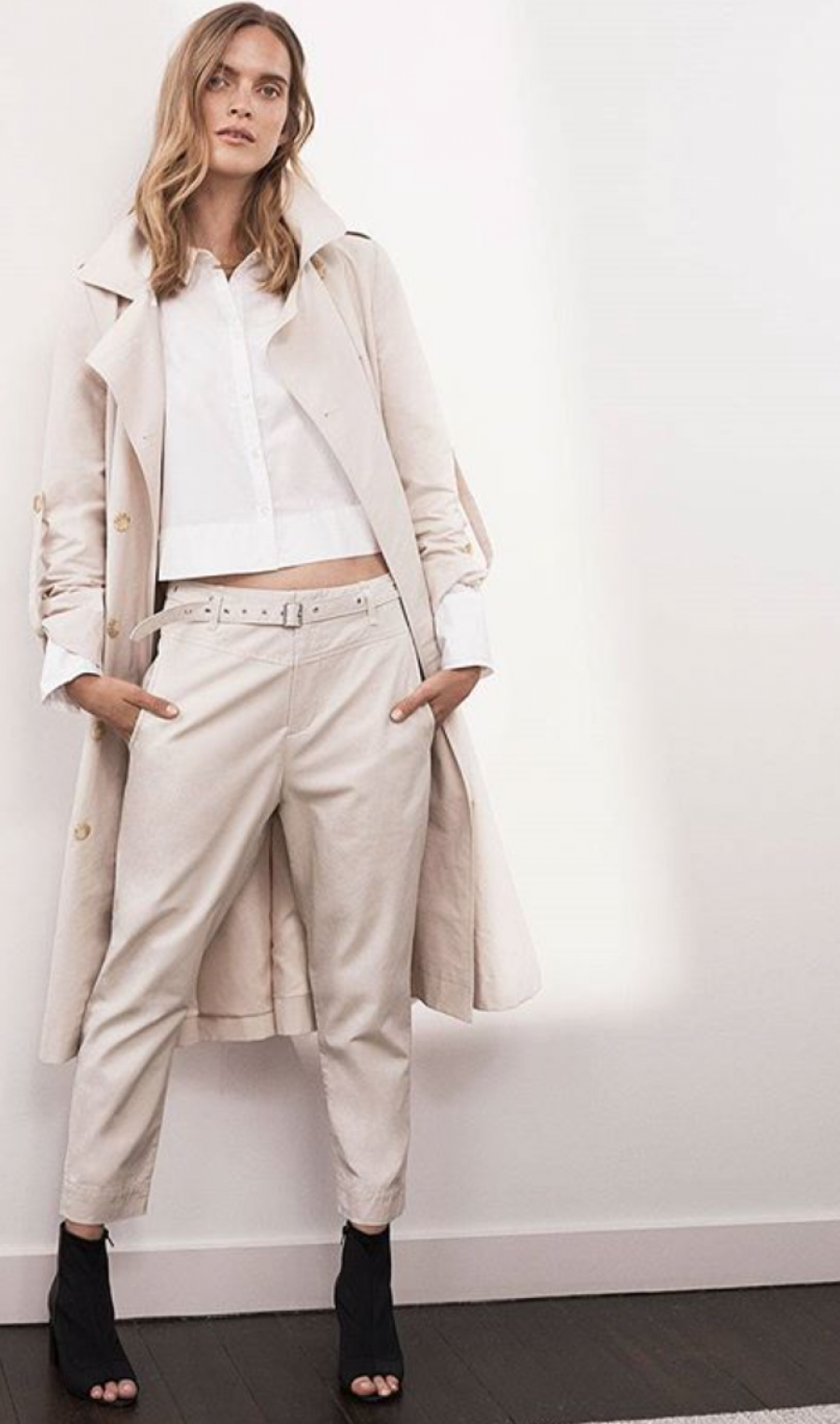 See Need Want Trend Alert Drop Crotch Pants Country Road Cream