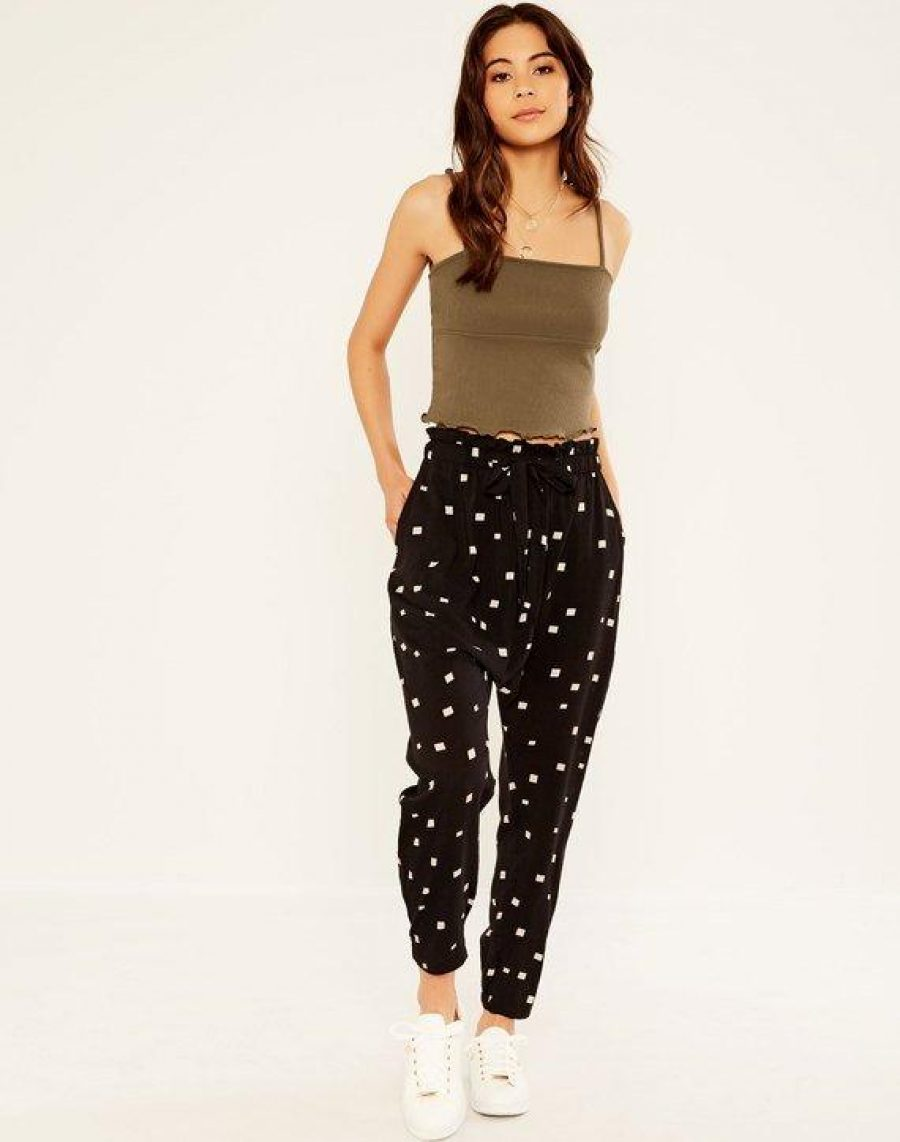 See Need Want Trend Alert Drop Crotch Pants Glassons