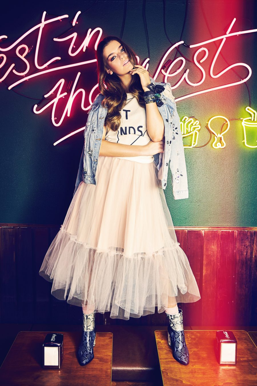 Seed Need Want Winter Fashion Trend Tulle Skirt Pink 1