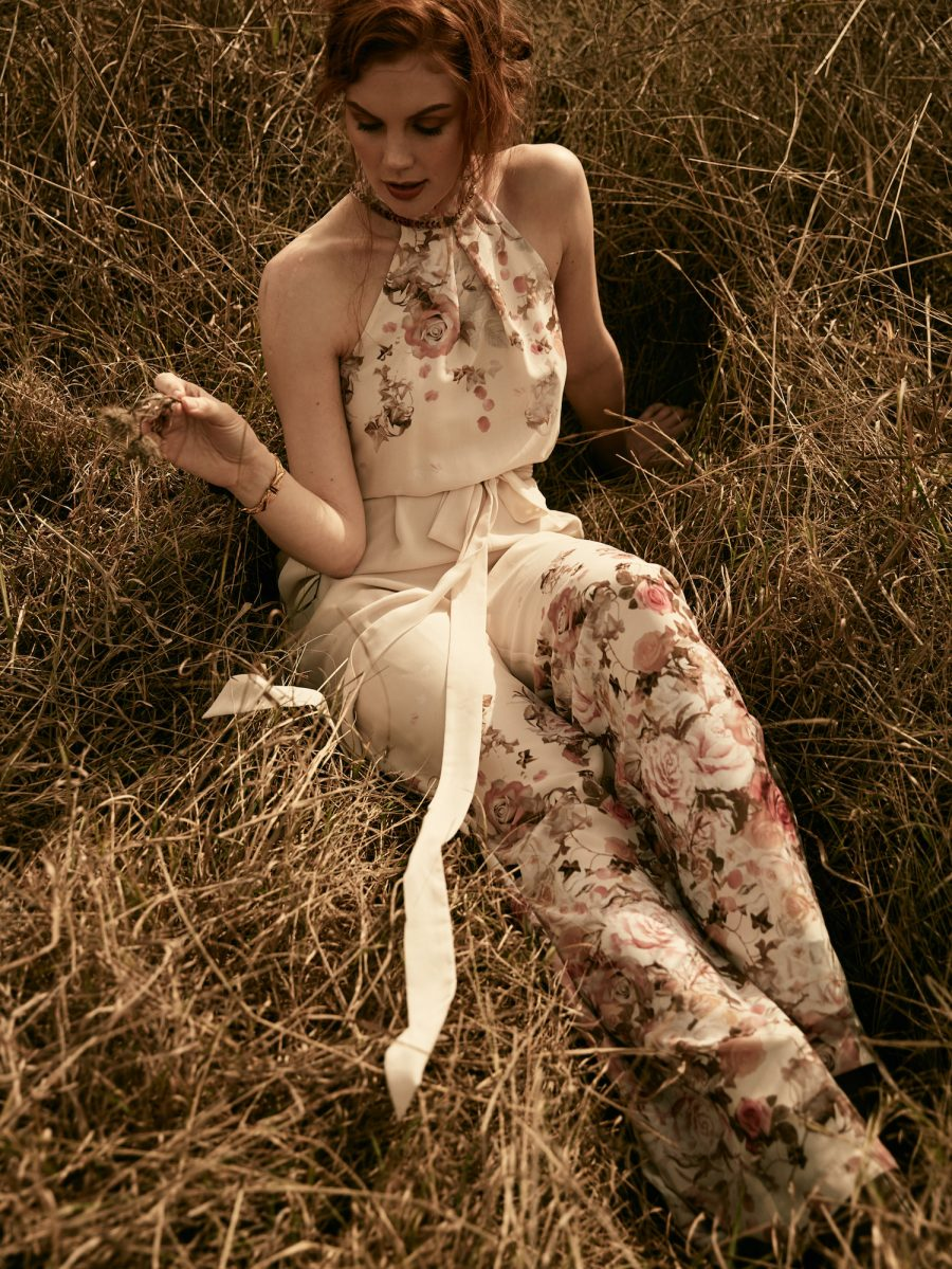 Spring Romantic Trends Fashion Floral Jumpsuit 1